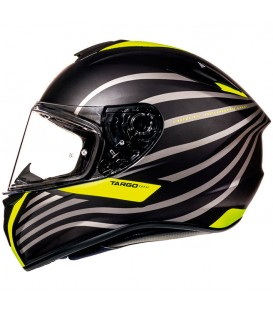 MT Helmets Targo Doppler A1 Matt Fluor Yellow