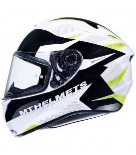 MT Helmets Targo Enjoy D3 Gloss Pearl Fluor Yellow