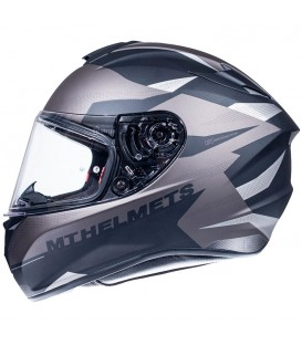 MT Helmets Targo Enjoy E2 Matt Grey