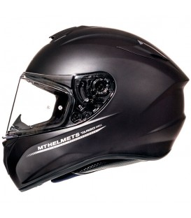 MT Helmets Targo Solid A1 Matt Black