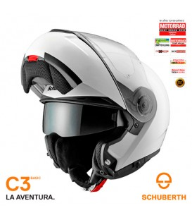 Casco Modular Schuberth C3 Basic Blanco Brillo