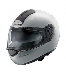 Casco Modular Schuberth C3 Basic Plata