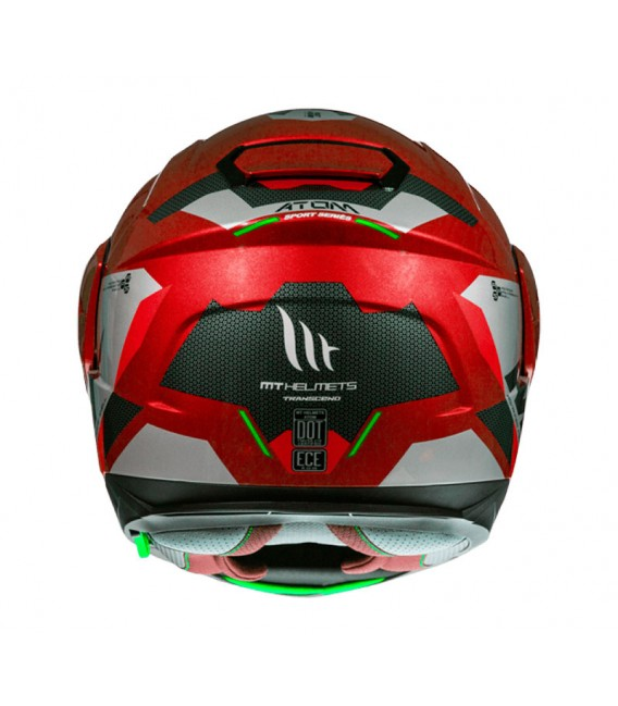 MT Atom SV Transcend F5 Gloss Red