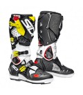 Motocross Boots Sidi Crossfire 2 SRS Black White Yellow