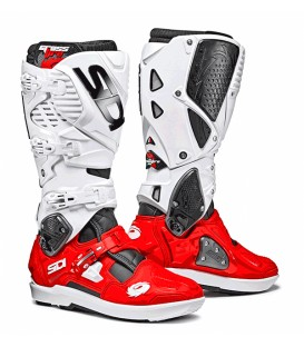 Motocross Boots Sidi Crossfire Black Red White