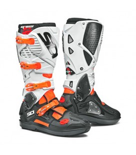Motocross Boots Sidi Crossfire 3 SRS Orange Black White