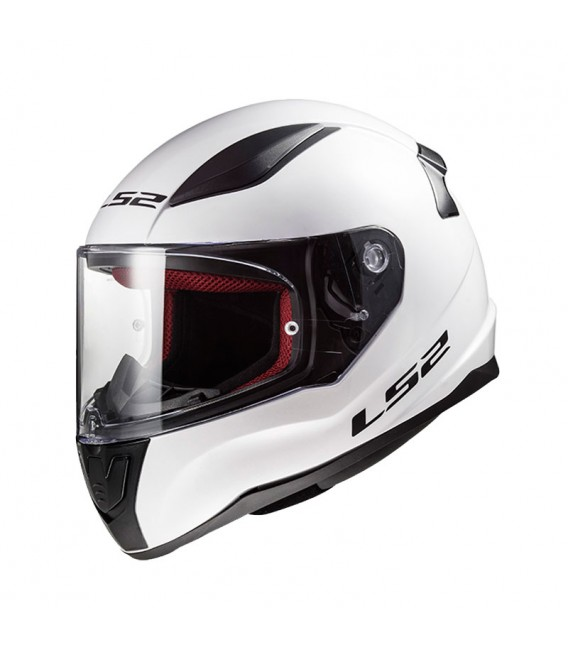 LS2 FF353 Rapid Solid White