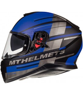 MT Helmets Thunder 3 SV Pitline C7 Matt Blue