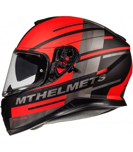 MT Helmets Thunder 3 SV Pitline C5 Matt Red