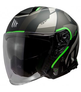 MT Thunder 3 SV Jet Bow A6 Matt Fluor Green