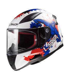 LS2 FF353 Rapid Junior Monster White