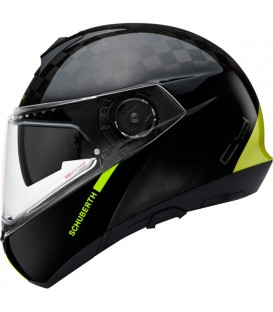 Schuberth C4 Pro Carbon Yellow Fusion