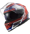 LS2 FF800 Storm FASTER Red Blue