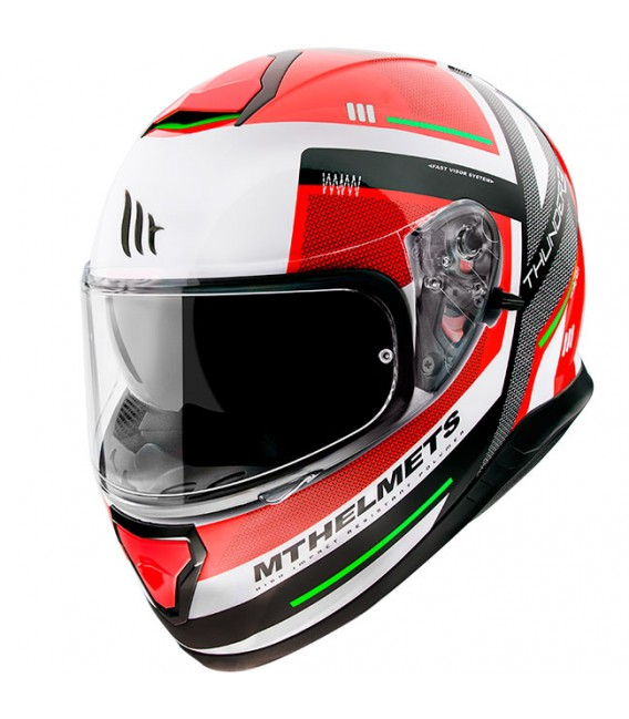 MT Helmets Thunder 3 SV Carry C5 Gloss Pearl Red