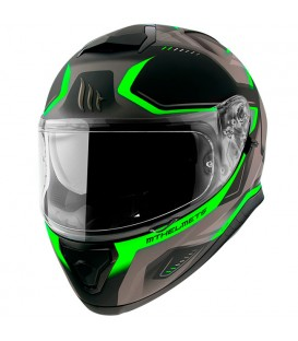 MT Helmets Thunder 3 SV Turbine C6 Matt Fluor Green