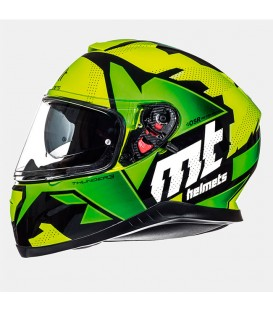 MT Helmets Thunder 3 SV Torn Gloss Fluor Yellow Fluor Green