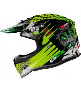 Shiro MX-308 ALIEN NATION KIDS Amarillo Fluor