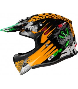 Shiro MX-308 ALIEN NATION KIDS Naranja Fluor