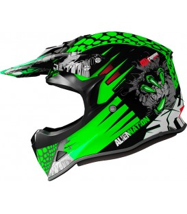 Shiro MX-308 ALIEN NATION KIDS Verde Fluor