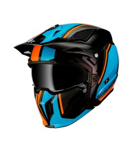 MT Helmets STREETFIGHTER SV Twin A4 Gloss Fluor Orange