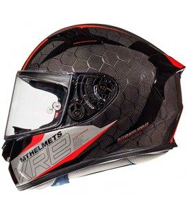MT KRE SNAKE CARBON 2.0 A5 GLOSS RED